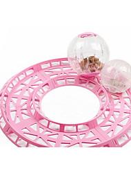 Roedores Hamster Silicone Brinquedos Amarelo Azul Rosa claro