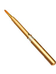 1Pcs Makeup Women Portable Retractable Cosmetic Lip Brush Lipstick Gloss Beauty Color Random