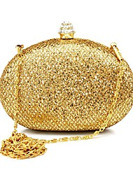 Women Bags Spring/Fall All Seasons Other Leather Type Clutch Rhinestone Sequined for Wedding Event/Party Casual Sports Formal Outdoor