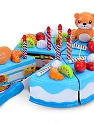 abordables -Nourriture Factice / Faux Aliments Jouet Couteaux à Gâteau & Biscuit Gâteau Plastique Enfant Cadeau 1pcs
