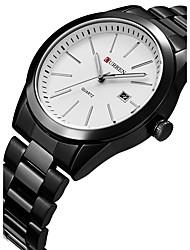 CURREN Men's Sport Watch Fashion  Wristwatch Unique Creative Cool Watches Casual Quartz Calendar Stainless Steel Band Luxury Business Clock