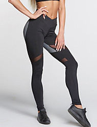 cheap -Women's Medium Stitching Legging,Patchwork Sexy. Cultivate one's morality; Fashion; Sports pants