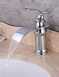 abordables -Lightinthrbox Robinet de salle de bain Sprinkle® - Moderne Chrome Jet pluie 1 trou