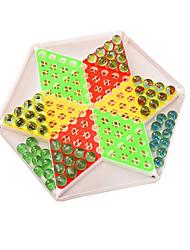 Недорогие -Настольные игры Шахматы Мячи Игрушки Большой размер Круглый Стекло Куски Не указано Подарок