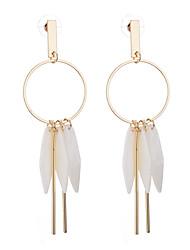 cheap -Women's Drop Earrings Imitation Opal Geometric Fashion China Alloy Circle Geometric Jewelry For Casual Date