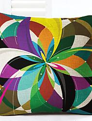 1 pcs Linen Pillow Case,Geometric Modern/Contemporary Modern
