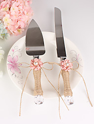 cheap -The New Pattern Pearl Floret Cake Servers Set Wedding Reception