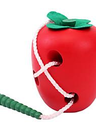 abordables -Blocs de Construction Jouet Educatif Jouets pomme Enfant Pièces