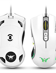 cheap -CW10 4800 DPI Wired Gaming Mouse Mice 7 Buttons Design 6 Breathing LED Colors Changing High Precision for Gamer PC MAC