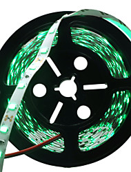 cheap -HKV 5m Flexible LED Light Strips 300 LEDs 5730 SMD Red / Blue / Green Cuttable / Self-adhesive 12 V
