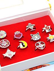 economico -Altri accessori Ispirato da Sailor Moon Sailor Moon Anime Accessori Cosplay Anelli