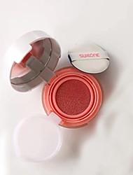 Air Cushion Blusher With 1 Pc Refill Waterproof Blush  Face Makeup Cheek Color Blusher Natural Makeup