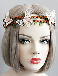 cheap -New Style Lace Butterfly Hair Band Head Decoration Elegant Style
