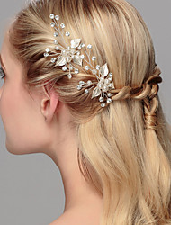 cheap -Crystal Imitation Pearl Hair Pin 1 Wedding Special Occasion Anniversary Housewarming Party / Evening Office & Career Headpiece