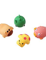abordables -Juguete de Agua Juguete de Baño Juguetes Plásticos Caricaturas Piezas Niños Regalo