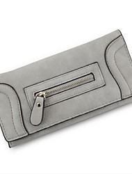 Women Bags All Seasons PU Coin Purse for Casual Outdoor Black Blushing Pink Gray