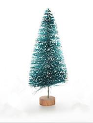 12 Piece / Set small Christmas tree/sisal of snow tarson/mini Christmas tree