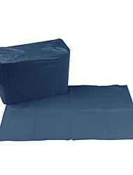 cheap -Dark Blue Non-woven Fabric Tattoo Disposable Table Mat 45*33CM125PCS/Bag