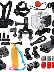 Waterproof Housing Case Accessory Kit For Gopro Outdoor Multi-function All-In-1, 147-Action Camera,All Action Camera Xiaomi Camera Gopro