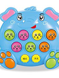 Недорогие -Игра Gopher Игра для всей семьи Игрушки для изучения и экспериментов Игрушки Слон Веселье Электрический Пластик Дерево Детские Куски