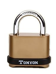 TONYON K25008-F25 Password Unlocked 4 Digit Password Dail Lock and Password Lock Door Lock