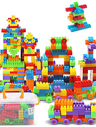 Approx 190PCS Interlocking Assembly Big Bricks Building Blocks DIY Early Educational Construction Toys Set Kid Model Designer Jigsaw Toys Kit