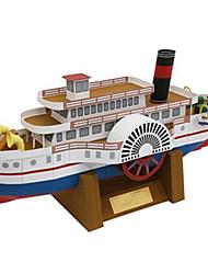 Недорогие -3D пазлы Бумажная модель Корабль Своими руками Плотная бумага Детские Универсальные Подарок