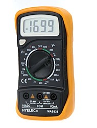 HYELEC MAS838  Professional Digital LCD Display Multifunction Mini Multimeter/Temperature Test Multimetro LCR Meter