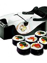 cheap -1 Pcs Roll Sushi Maker Machine Cutter Roller DIY Onigiri Roll Tool Sushi Mold Cooking Tools Kitchen Accessories
