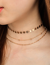cheap -Women's Others Jewelry Set - Personalized / Euramerican / Multi-ways Wear Gold / Silver Choker Necklace / Chain Necklace For Dailywear /
