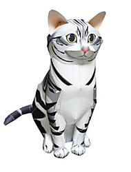 3D пазлы Бумажная модель Игрушки Квадратный Утка Животные Своими руками Не указано Куски