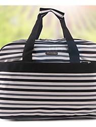 billige -Kvinder Tasker Polyester Rejsetaske for Afslappet Alle årstider Blå Sort-Hvid Rød