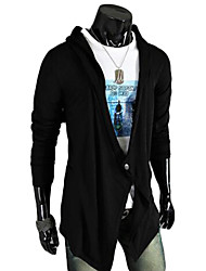 cheap -Men's Weekend Active Long Cardigan - Solid V Neck