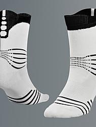simple Chaussettes de Sport Homme Chaussettes Toutes les Saisons Antidérapant Antiusure Coton Football