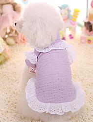 Chien Robe Vêtements pour Chien Garder au chaud Princesse Costume Pour les animaux domestiques