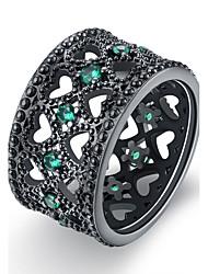 preiswerte -Damen Ring Grün Blau Leicht Rosa Kupfer Vergoldet Einzigartiges Design Retro Geburtstag Party Geschenk Alltag Modeschmuck