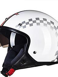 cheap -LS2  OF561  Motorcycle Helmet Men And Women Semi-Retro Retro Locomotive Half Helmet Pedal Taizong Helmet Summer