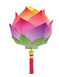 Недорогие -3D пазлы Бумажная модель Оригами Наборы для моделирования Фонариком Своими руками Классика Универсальные Подарок