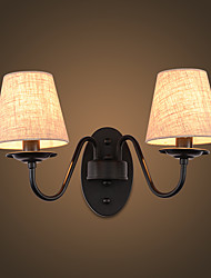 economico -AC 220-240 110-120 2*60 E14 E12 Rustico/campestre Semplice Vintage Pittura caratteristica Luce ambient Luce a muro