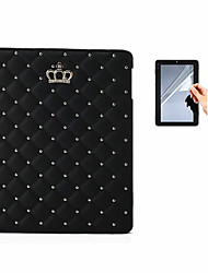 billige -Etui Til Apple iPad Mini 4 iPad Mini 3/2/1 iPad 4/3/2 iPad Air 2 iPad Air Med stativ Fuldt etui Helfarve Hårdt PU Læder for iPad Mini 4