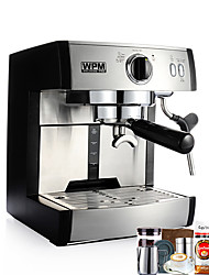 Coffee Machine Pump Pressure Semi-automatic Health Care Upright Design Reservation Function 220V