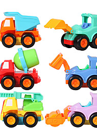 cheap -Toy Cars Toys Construction Vehicle Excavator Toys Large Size Excavating Machinery Plastics Pieces Children's Gift