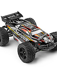 abordables -Coche de radiocontrol  A333 2.4G Off Road Car Alta Velocidad Drift Car Buggy Todoterreno 2WD 1:12 Brush Eléctrico 35 KM / H Control