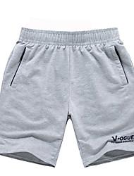 cheap -Men's Running Shorts Casual / Daily Shorts / Bottoms Exercise & Fitness / Running Polyester Black / Gray / Dark Grey XXL / XXXL / XXL-XXXL