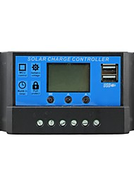cheap -Solar Control Charger 10A with Dual USB Output 5V Mobile Charger 12/24V Solar Panel Battery Charge Regulator 10 Amps Y-SOLAR