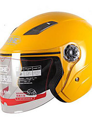 cheap -YOHE YH-837 Motorcycle Large Helmet Electric Car Men And Women Four Seasons Helmet Sunscreen Helmet Battery Car Half-Covered Rainproof Wind