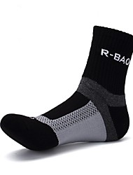 cheap -Sport Socks / Athletic Socks Bike/Cycling Socks Men's Yoga Running/Jogging Cycling Hiking Climbing Anatomic Design Protective 1 pair All