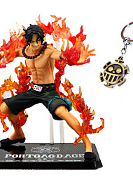 cheap -One Piece Ace Battle 13CM PVC Anime Action Figures Model Toys Doll Toy 2PCS