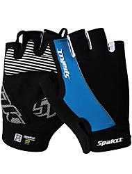 Недорогие -SPAKCT Спортивные перчатки Перчатки для велосипедистов Пригодно для носки Дышащий Нескользящий Прочный Без пальцев Лайкра спандекс Горные