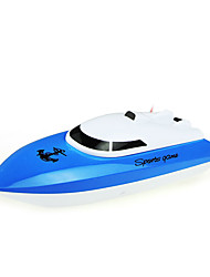 cheap -RC Boat Fishing Boat Mini RC Racing Boat Realistic High Speed Yacht Water Playing Electric Remote Control Ship Bait Boat Toy